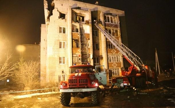 МЧС засняли с беспилотника дом, поврежденный от взрыва газа