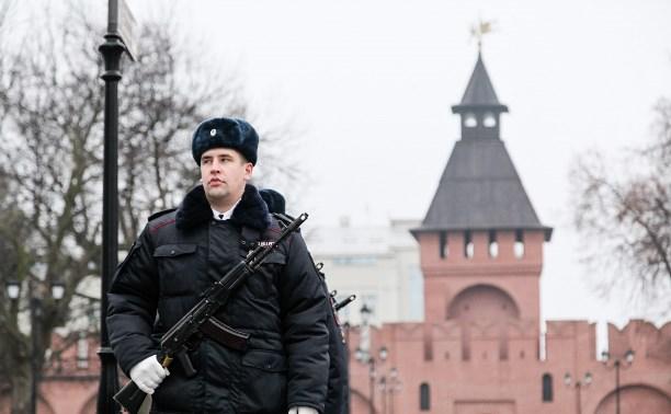 В Тульском кремле отметили День полиции