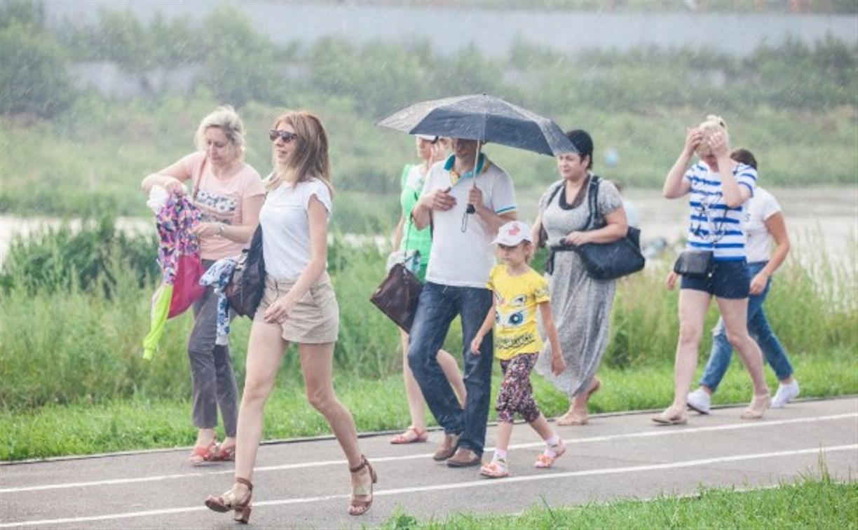 Погода в Туле 14 августа: жара, гроза и небольшой дождь
