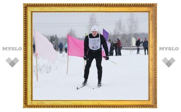 Губернатор Тульской области принял участие в «Веденинской лыжне»