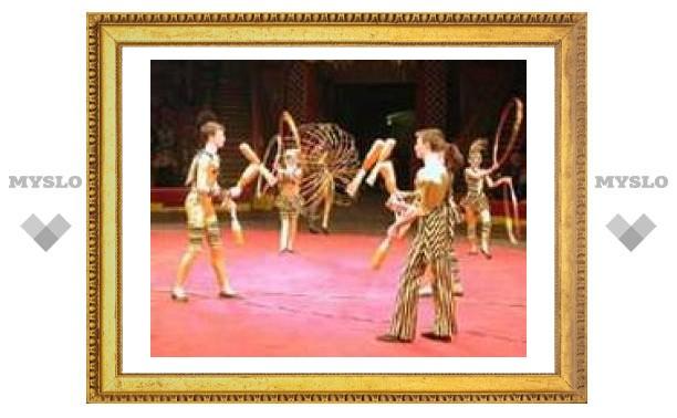 Тульский детский цирк зажигает в Германии