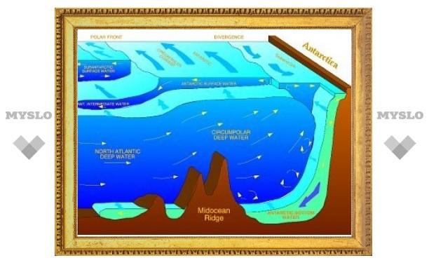 Антарктика потеряла более половины придонных вод