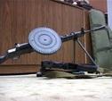 Житель Венева хранил дома пулемет Дегтярева