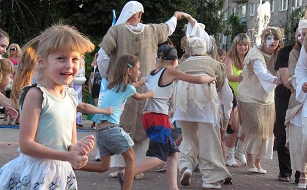 Коллективы «Театрального дворика» - это одна большая дружная семья!