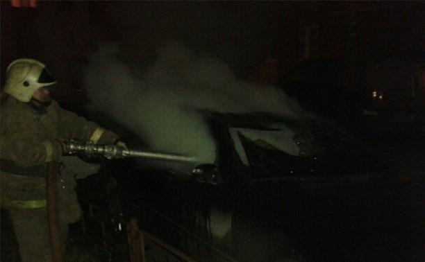 Ночью в Туле сгорел «Мерседес»