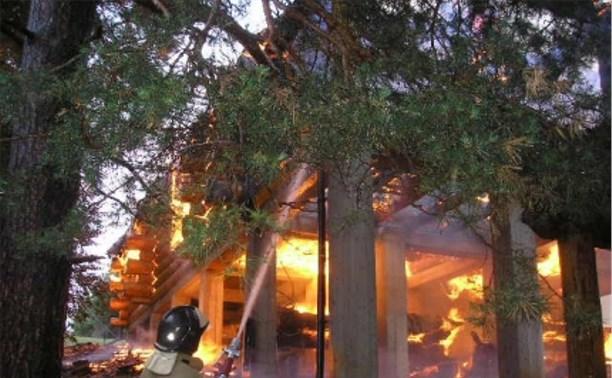 В 2015 году в Тульской области произошло 266 пожаров в частных домах