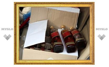 В Туле поймали торговца поддельным виски