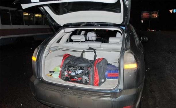 В Туле сотрудники ДПС обнаружили у водителя наркотики