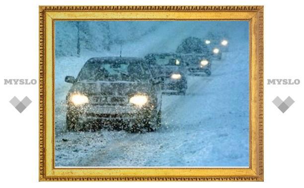 Тульское ГИБДД просит автолюбителей быть внимательнее на дорогах