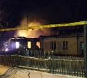 Ночью 1 января в Новомосковске загорелся частный дом
