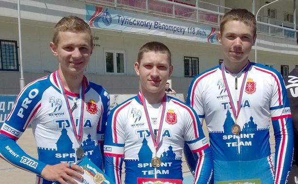Тульские велосипедисты привезли медали с пензенского велотрека