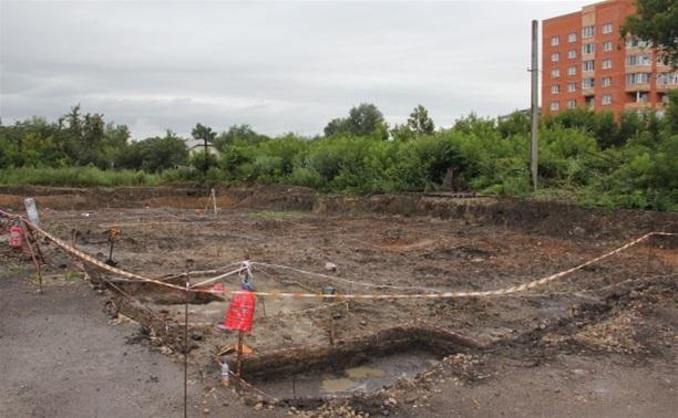 В Туле археологи ищут старинную церковь XVII-ого века