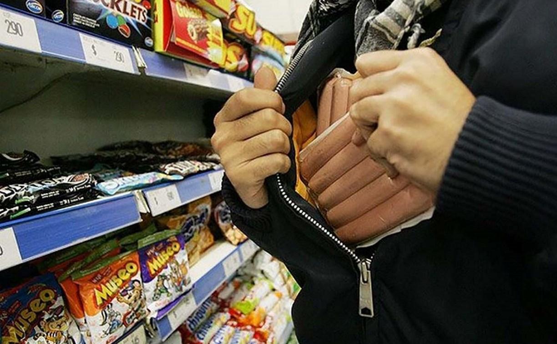 В Скуратово тульские полицейские задержали продуктового вора