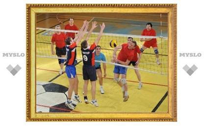 В Тульской волейбольной лиге может смениться лидер