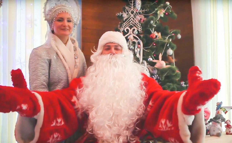 Тульский Дед Мороз поздравляет портальцев с Новым годом!