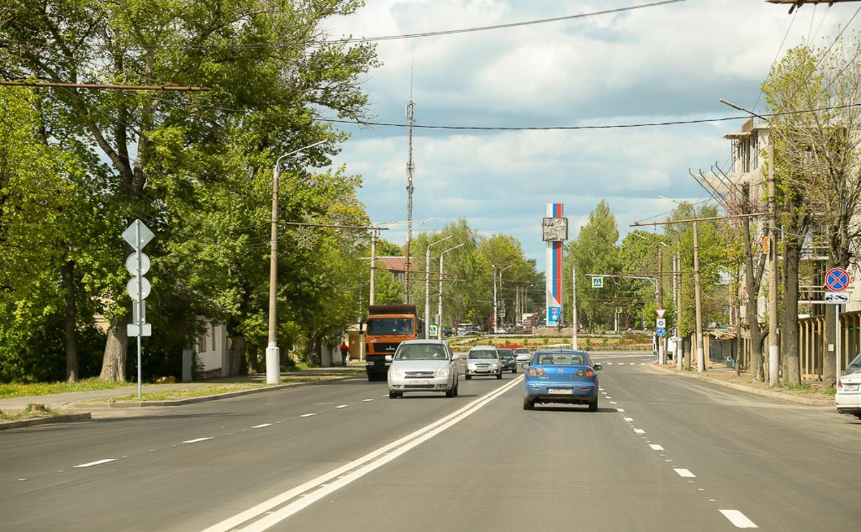 Дмитрий Миляев: Ремонт дорог в Туле идет хорошими темпами