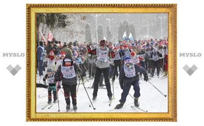 В Новомосковске состоялась «Лыжня Печенкина»