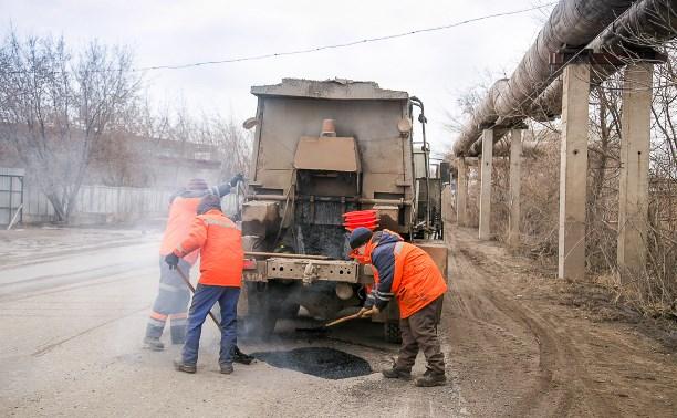 В Туле продолжают ремонтировать дороги
