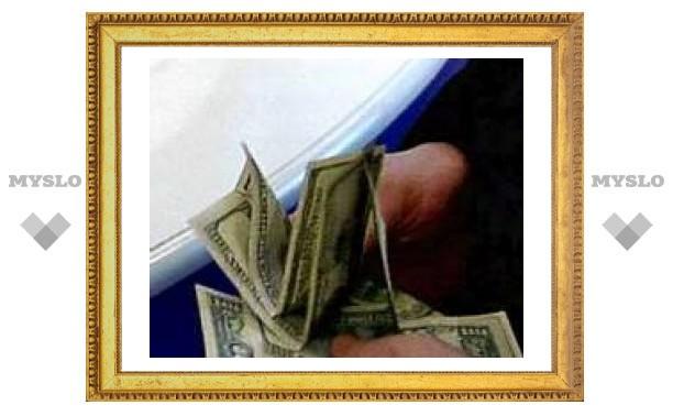 Доллар снова рухнул, на этот раз на 11 копеек
