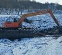 В Богородицке расчищают городской пруд