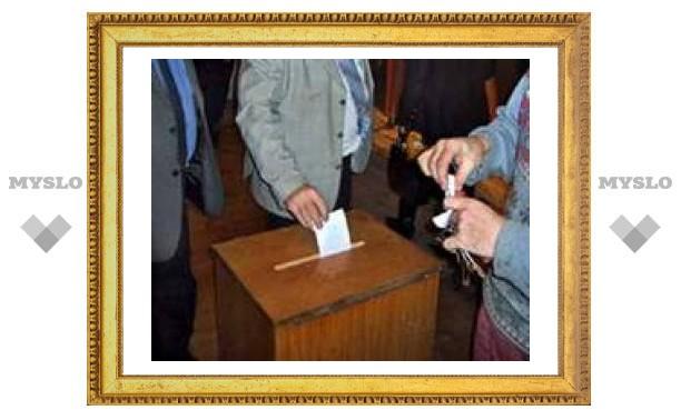 Туляков наградили грамотами за проведение выборов