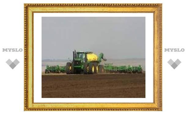 В Тульской области посеют больше зерновых и свеклы