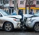 На проспекте Ленина столкнулись две иномарки