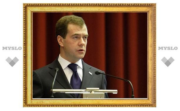 Владимир Груздев отчитался Дмитрию Медведеву о выполнении поручений Президента