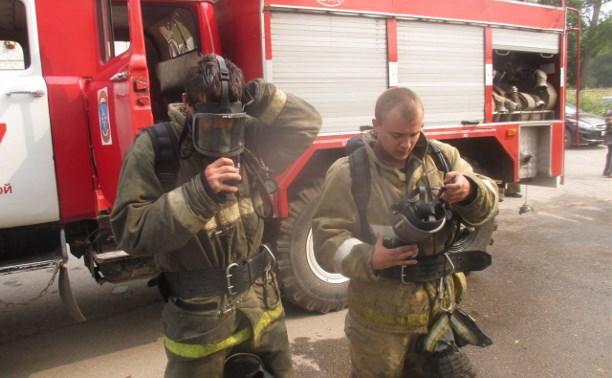 В Донском загорелась трёхкомнатная квартира