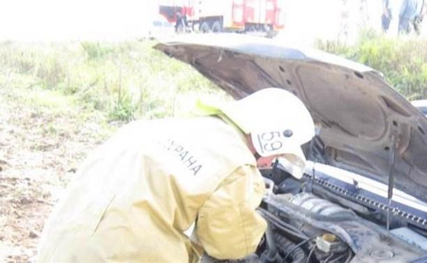 Смертельное ДТП на автодороге «Тула-Алексин»: пострадали четверо, один человек погиб