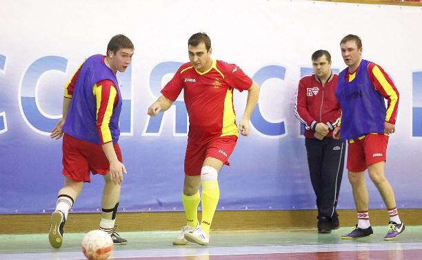 В Туле стартовал турнир по мини-футболу в память афганцев