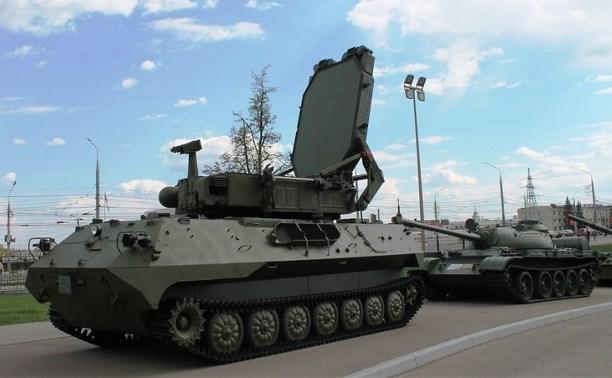 Тульскому музею оружия передали радиолокационный комплекс «Зоопарк-1»