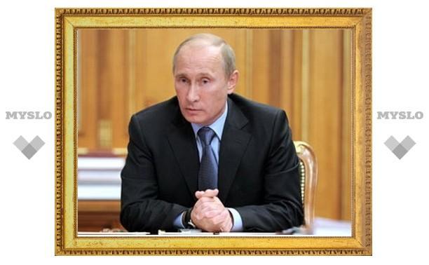 Путин отложил до лета повышение тарифов на свет и газ