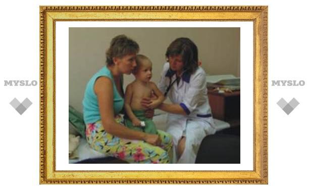 Юных туляков бесплатно обследуют врачи
