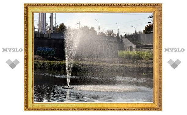 Тульские фонтаны законсервируют на зиму