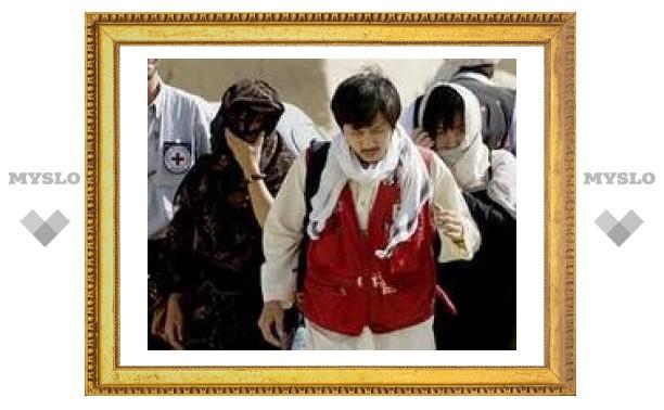 """""""Талибан"""" освободил 12 из 19 корейских заложников"""