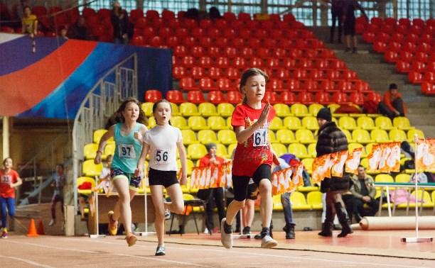 Юные легкоатлеты приняли участие в почётных стартах