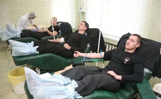 Областная станция переливания крови поблагодарила полицию