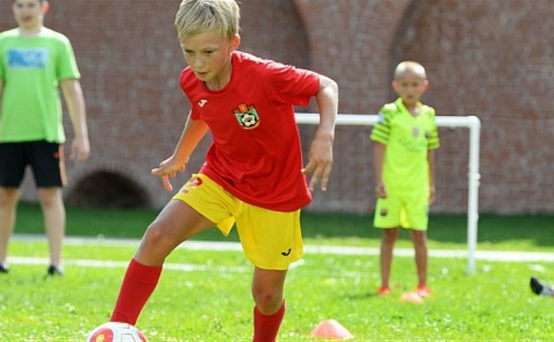 Юных тульских футболистов приглашают в академию «Арсенала»