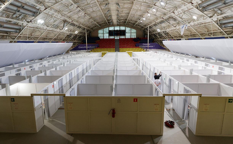 Губернатор проверил готовность коронавирусного госпиталя в манеже «Арсенала»