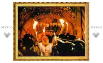 Благодатный Огонь доставят в Тулу