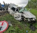 В жесткой аварии на М-2 около Некрасово пострадали военнослужащие