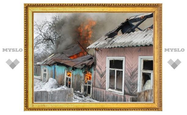 В Туле пожарные не смогли проехать к дому из-за нечищеной дороги