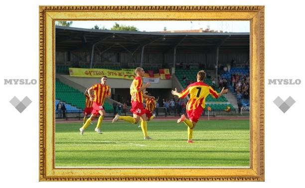 Тульский «Арсенал» сыграл вничью с «Сахалином»