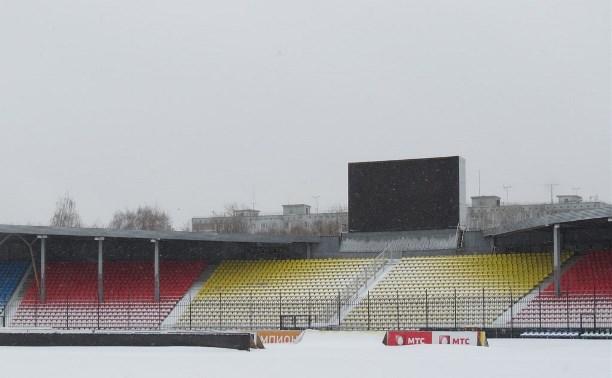 Стадион «Арсенал» готовят к мартовским матчам РФПЛ