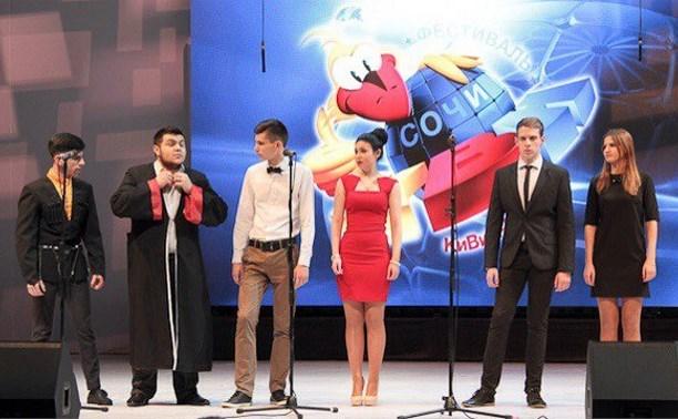 Три тульские команды КВН выступили на фестивале в Сочи