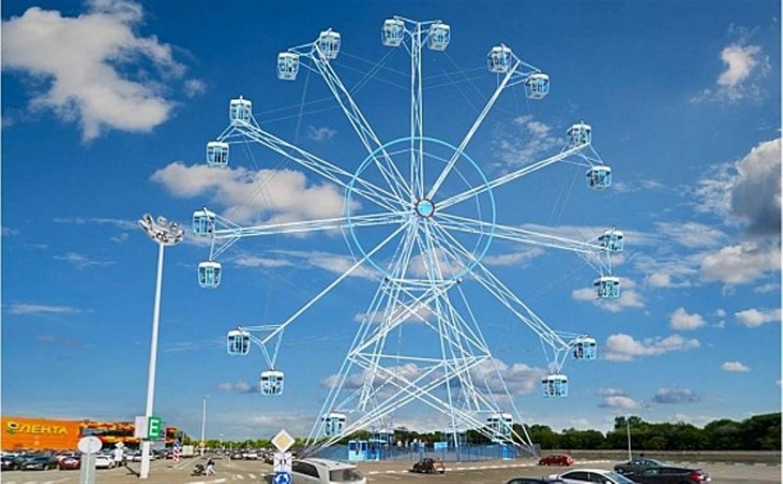 Новое колесо обозрения откроется в Туле в сентябре