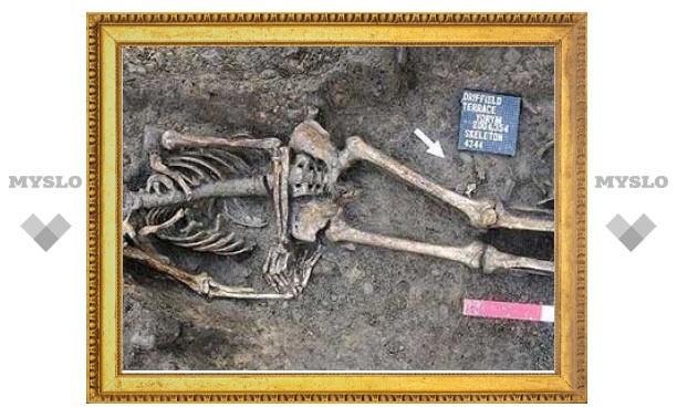 В Йорке обнаружено кладбище гладиаторов