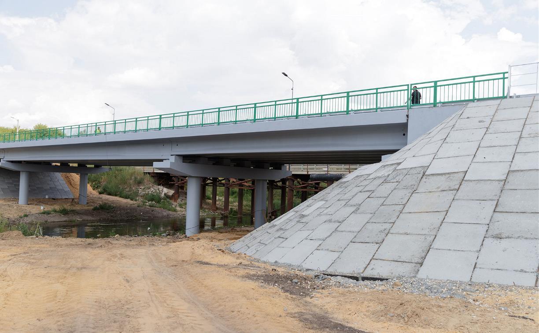 В Кимовском районе открылось движение по мосту через Дон