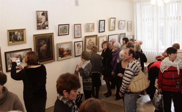 В Туле открылась областная выставка творчества людей с ограниченными возможностями